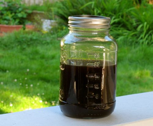Cold BrewedEspresso. If you can pour cold water, you can make this. It is the base to my cold frappe drink recipes.