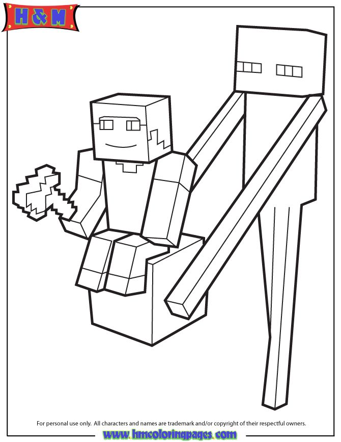 21 best images about minecraft coloring pages on pinterest for Cute minecraft coloring pages