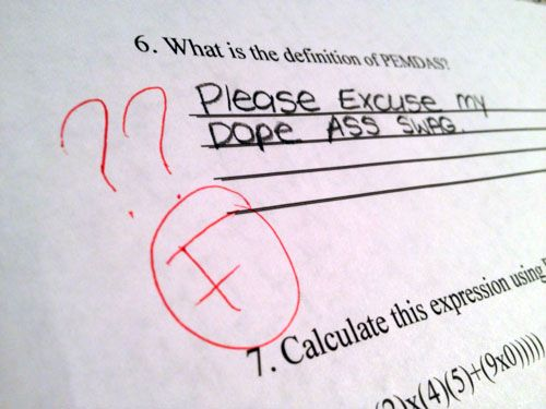 18 Hilarious Test Answers