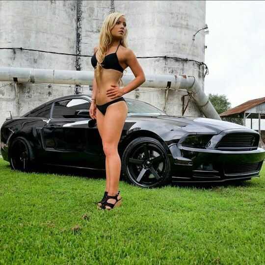 Sexy Nudes Girls In Ford Mustang Images