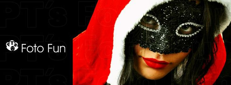 Santa girl with mask