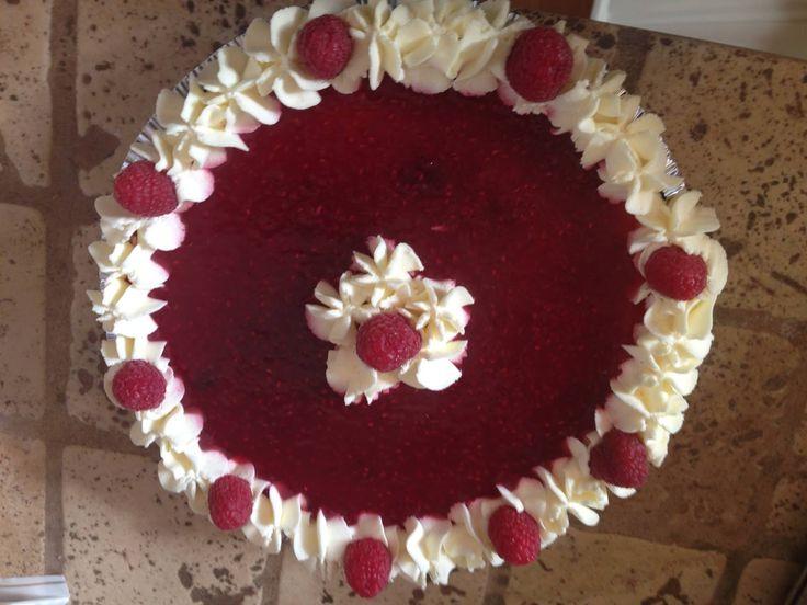 JUST A SPOON FULL OF SUGAR: Briermere Farms Raspberry/Blueberry Cream Pie Recipe