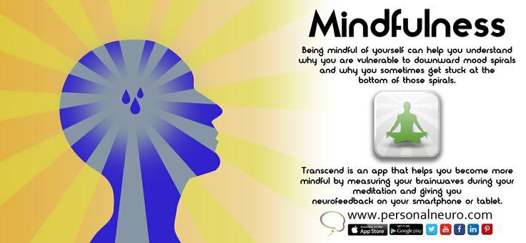 mindfulness is healing. Transcend gives neurofeedback using eeg for your meditation. #mindfulness #neuroscience #meditation #brain