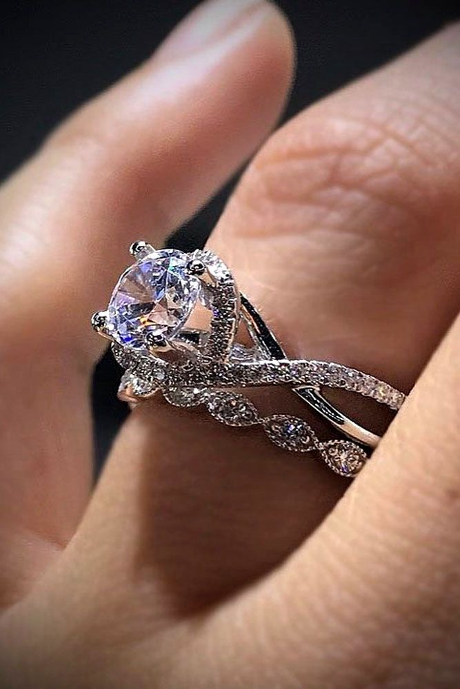 33 Excellent Wedding Ring Sets For Beautiful Women Cool Jewelry Pinterest Engagement Rings And