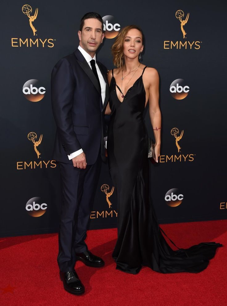 "David Schwimmer looked very dapper as he posed with his stunning wife Zoe Buckman at the 68th Primetime Emmy Awards. Schwimmer is nominated for Outstanding Supporting Actor in a Limited Series or a Movie for his role as Robert Kardashian in ""The People v. O.J. Simpson."""