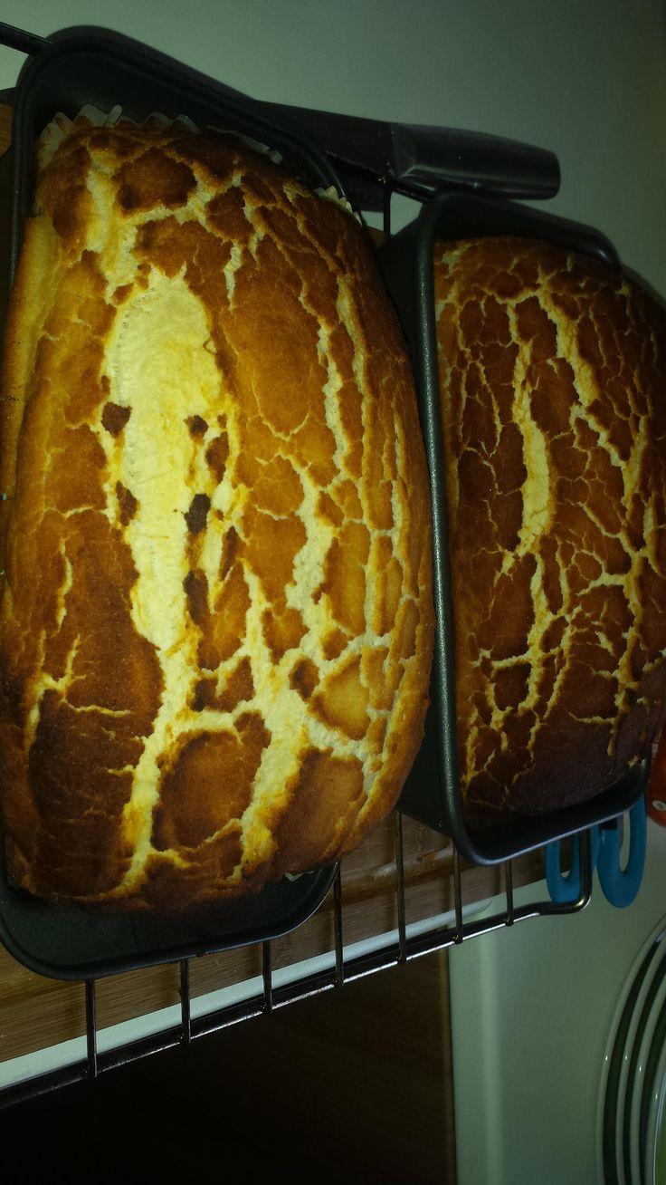 [homemade] Tiger bread!