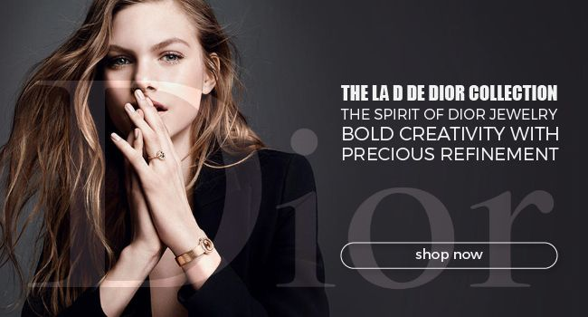 Precious refinement. The La D de Dior collection embodies the spirit of Dior jewellery, bold creativity, combinations of materials and colours and all the know-how of Swiss watchmaking.