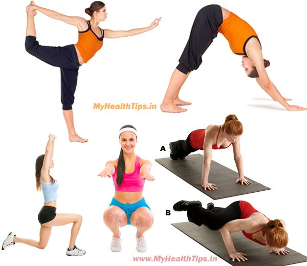 yoga moves to lose weight fast