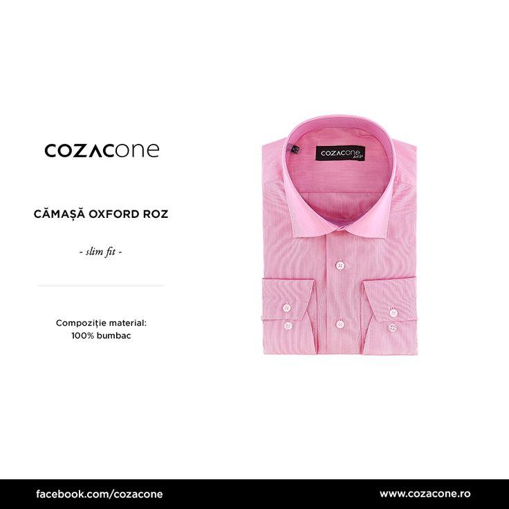 O cămașă roz face mai mult decât să dea prestanță unei ținute simple: http://www.cozacone.ro/produse/detalii/camasa-oxford-roz/