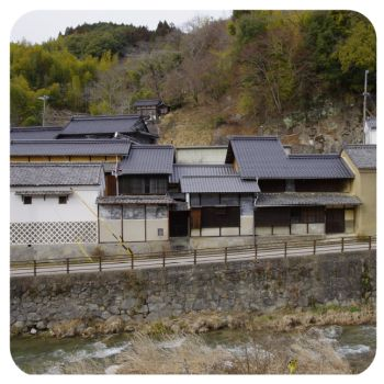 愛知県豊田市足助 #伝統的建造物群保存地区 #三河