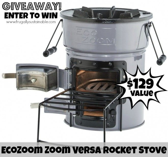 This is an awesome GIVEAWAY! EcoZoom Zoom Versa Rocket Stove! #emergencypreparedness #survival #camping #rewildyourself