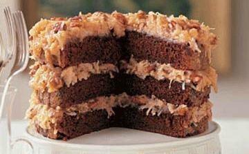 ** GERMAN CHOCOLATE CAKE 1 (4 oz.) bar Hershey's sweet chocolate ...