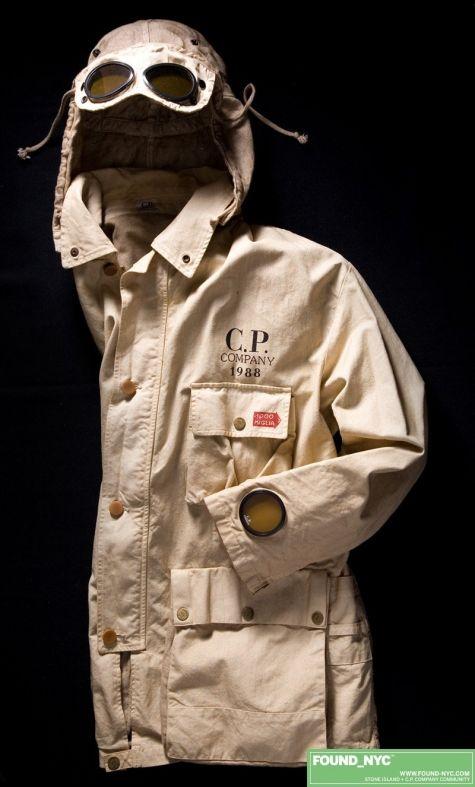 An original Goggle jacket 1989 (C.P. Company)