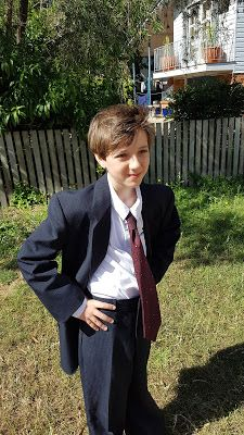 Blog post about creating the boys a costume each in 1 week as they wanted to cosplay the 10th and 11th Doctor at the first every Fraser Coast Pop Culture Festival.
