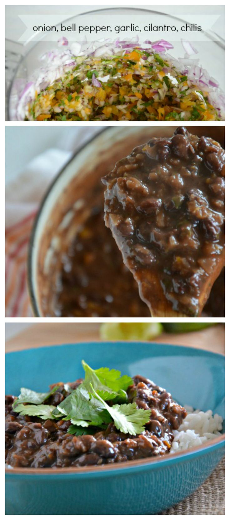 20 Minute Cuban Black Beans. So much flavor and so easy to make! mountainmamacooks.com