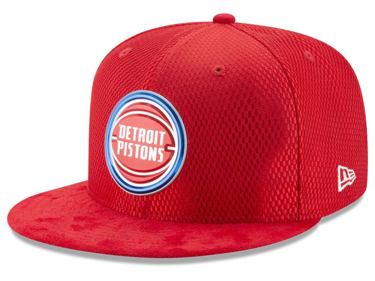 Detroit Pistons New Era NBA On-Court Reverse Collection 59FIFTY Cap