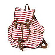Striped Anchor Backpack @ Claire's