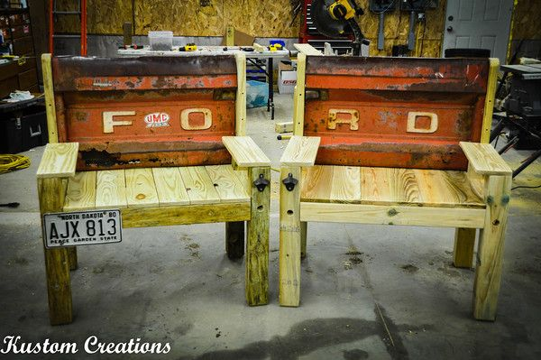 Tailgate Benches - KustomCreations