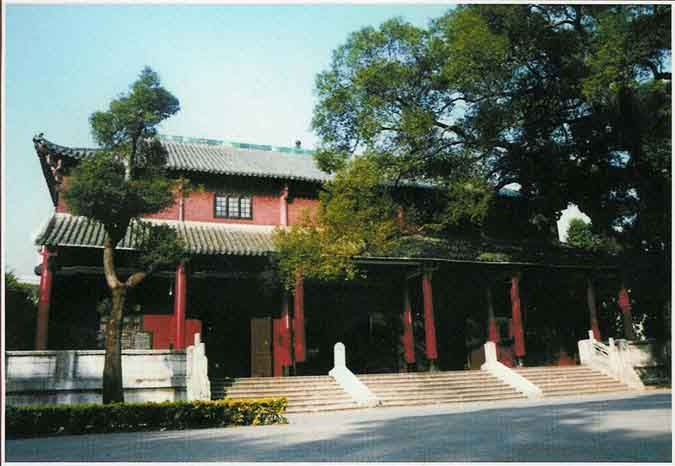 Jingwu (Chinwoo) Association Hall in Foshan. Completed in the 1930s, this sort of public infrastructure supporting the martial arts would have been unheard of in Chan Wah Shun's time. The martial arts were deeply unfashionable for most of his teaching career. This, more than other other factor, probably accounts for the small size of his school.