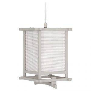 Japanese Style Box Pendant Light