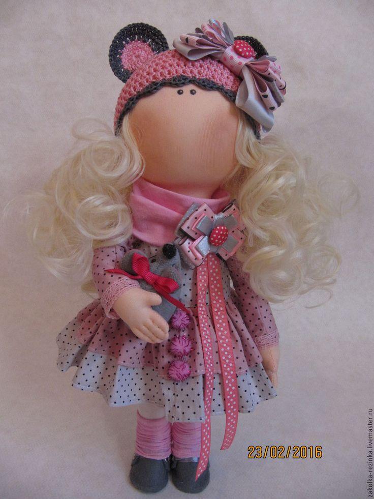 Купить Куколки Минни Маус - розовый, кукла ручной работы, кукла, кукла в подарок