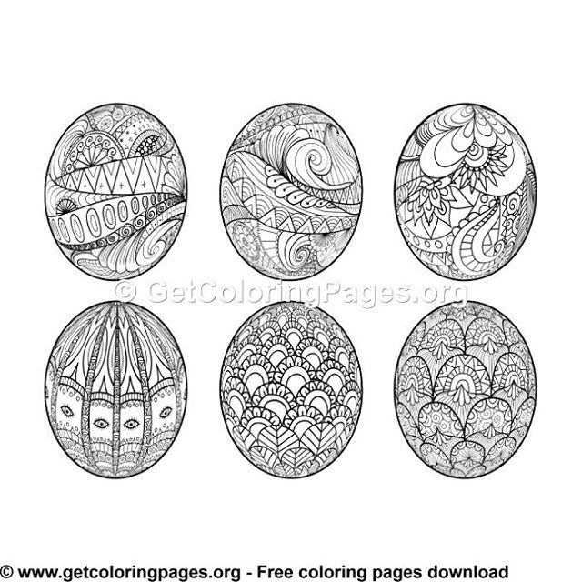 Free Coloring Pages Coloring Eggs Easter Egg Coloring Pages Coloring Pages