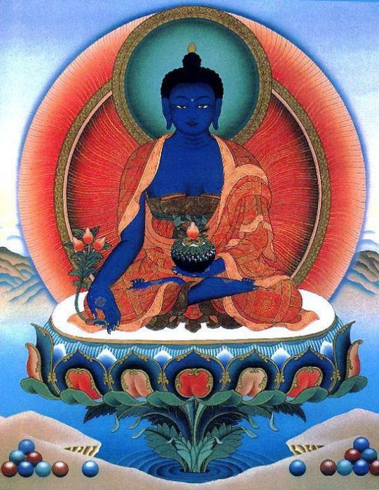 Как использовать символ Будда Медицины для хорошего фэн шуй