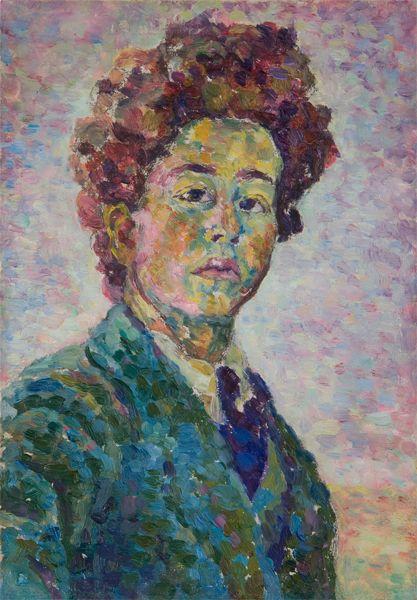 Son père et son parrain, le peintre symboliste Cuno Amiet (1868-1961), sont deux figures essentielles dans le développement artistique du jeune Alberto.