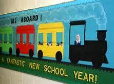 Train Bullitin board - Bing Images