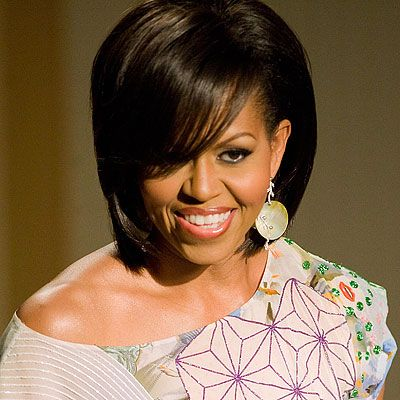 Michelle Obama. The first black first lady.