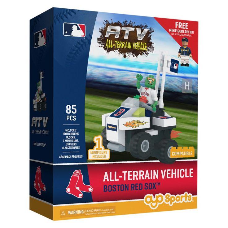 MLB Boston Red Sox Oyo Atv Toy Vehicle - 85pcs