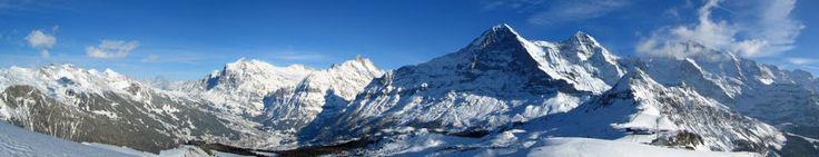 Panorama- Grindelwald und sein Dreigestirn