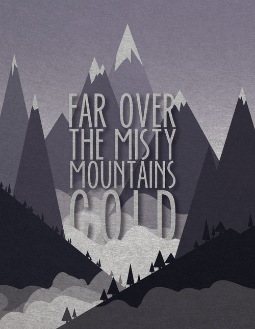 The Hobbit: Far over the Misty Mountains cold