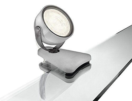 Philips myLiving Dyna - Foco LED con pinza, iluminación interior, LED integrado ✿ ▬► Ver oferta: https://cadaviernes.com/ofertas-de-focos-de-cocina/
