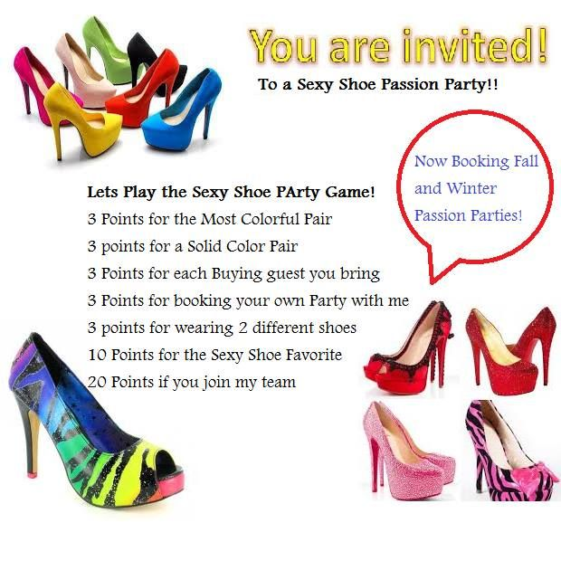 Passion party games to play