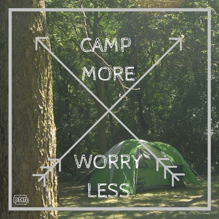 ⛺️ Camp more, worry less ⛺️ | Iowa DNR