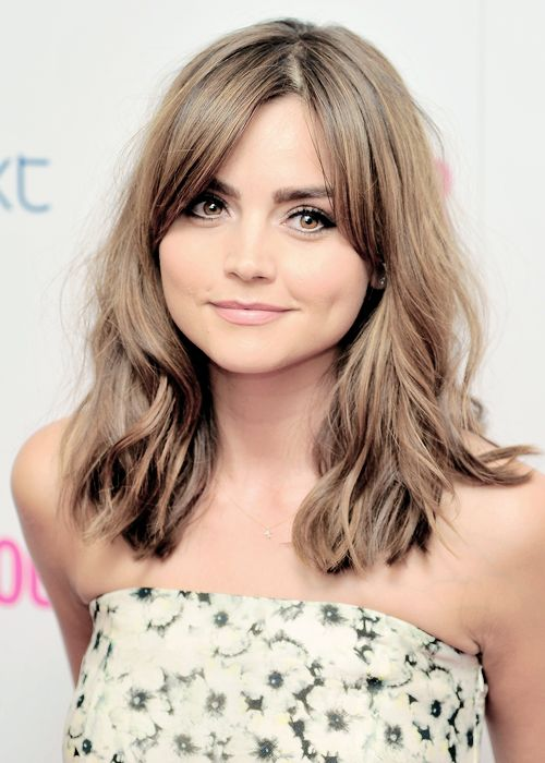 Jenna Coleman is the prettiest woman that there has ever been, ever