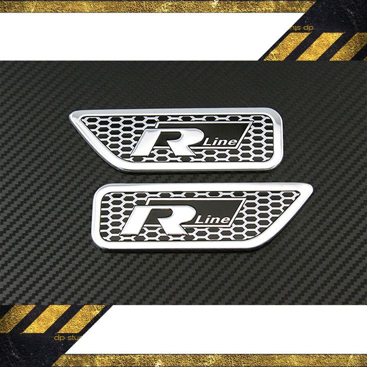 3D Aluminium ///M Logo Side Wing Fender Emblem Decal Badge Sticker New Car Styling M STI RS ST RLINE TRD