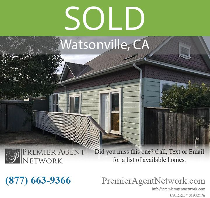 Sold 2925 Freedom Blvd Watsonville Ca 95075 Real Estate Property Residential