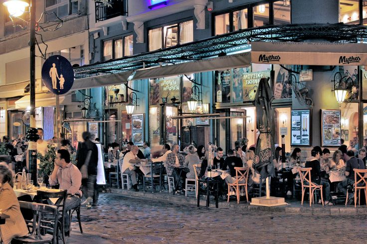 Ladadika district, Thessaloniki