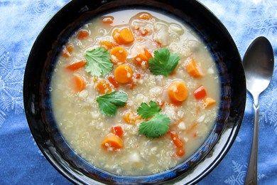 Quinoa Lentil Soup