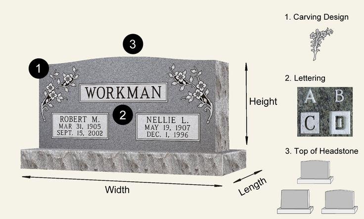 Unique Design Headstone,Tombstone,Monument - Casket Outlet