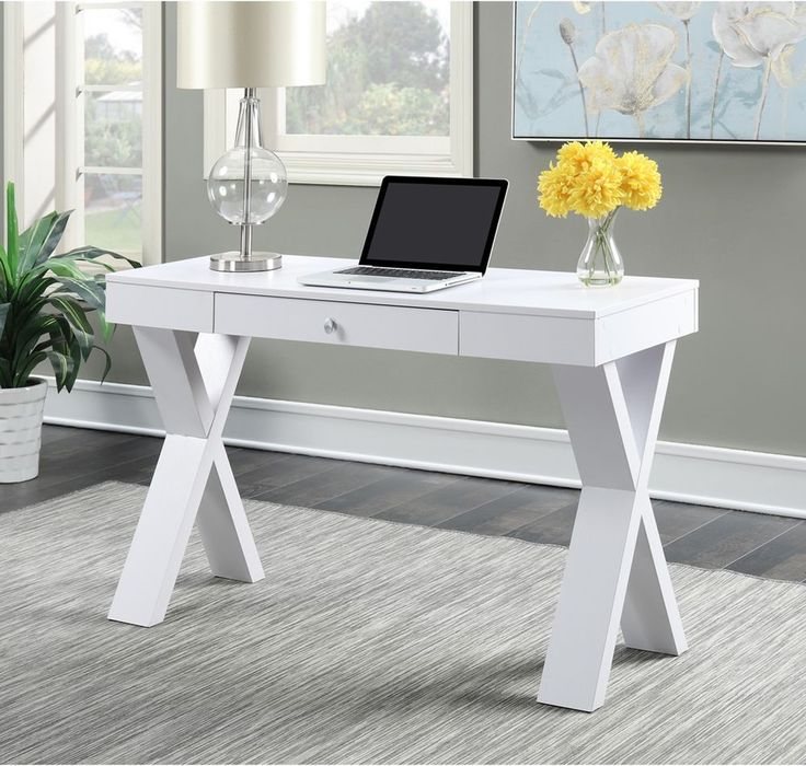 17 best ideas about White Desk With Drawers on Pinterest  Makeup vanity  with drawers, Makeup desk with mirror and Vanity desk with mirror