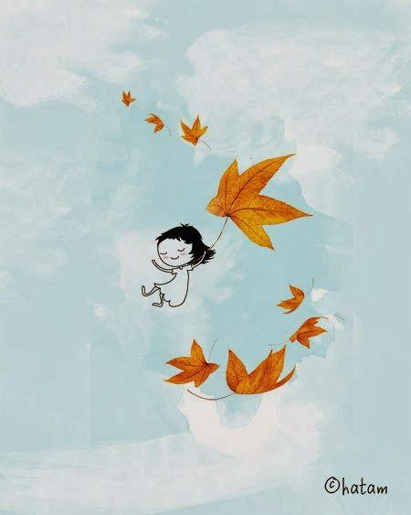 Poesia Infantil i Juvenil: Vuelan las hojas con los poemas: otoño-poesía