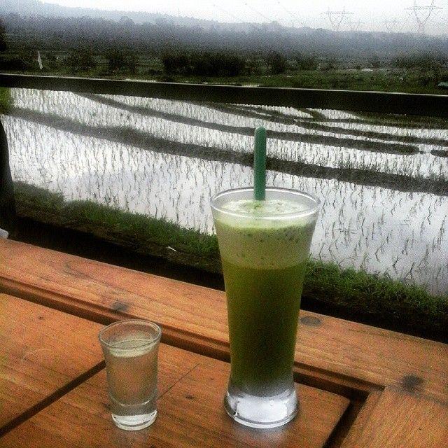 #jokokopi green tea matcha ice blended!!