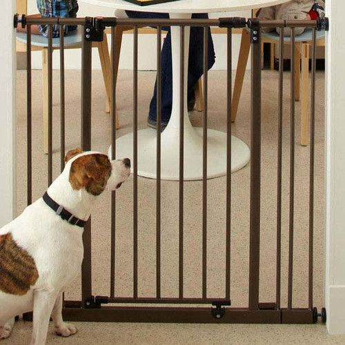 Found it at Wayfair - Extra Tall Deluxe Easy-Close Pet Gate