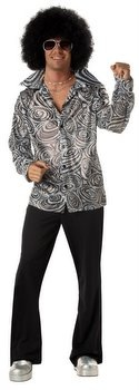 Groovy 70's Disco Shirt - 60's and 70's Costumes - Candy Apple Costumes