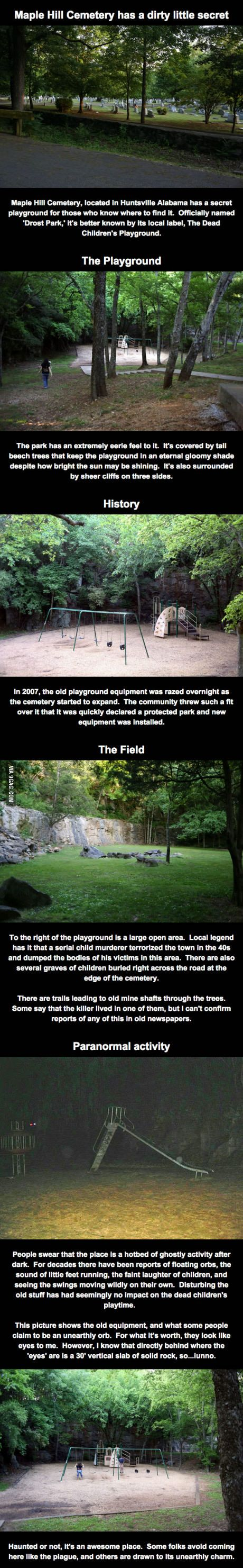 The Dead Children's Playground.                                                                                                                                                                                 More