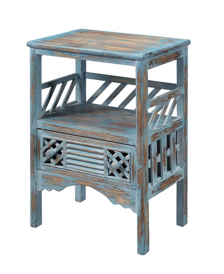 One Drawer Accent Table 50637 Furniture Rustic Accent