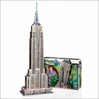 Puzzle 3D Empire State Builiding - 975 elementów  #puzzle #puzzle3d